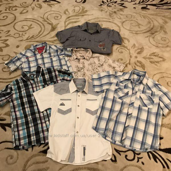 a7ab2e42d60 Фирменные рубашки и тениски на мальчика 9-10 лет Louis Vuitton Burberry