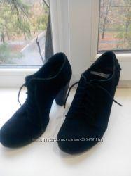 Замшевые ботинки, р-р 37