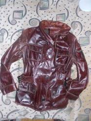 Кожаная курточка р. 46-48