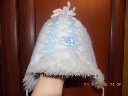 теплая красивая шапочка для сынишки