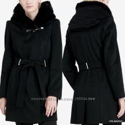 Calvin Klein пальто шерсть оригинал из США 215USD