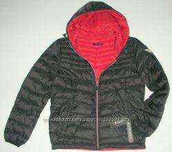 Guess из США S-XXL черная 150USD куртка пуховик оригинал  2 в 1
