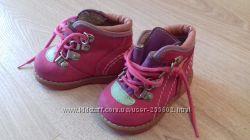 Демисезоние ботинки нубуковые Red Kids