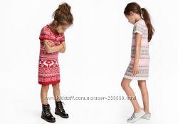Милые теплые платьица 2-4, 6-8 лет.