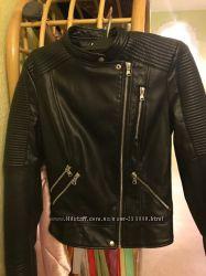 Курточка из кожзама, Zara, XS