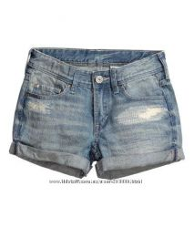 Джинсовые шорты для взрослых девочек, 14-16