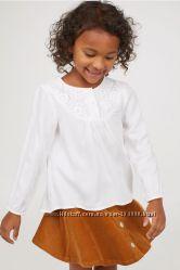 Легкие блузочки для школы и не только, 5-11 лет