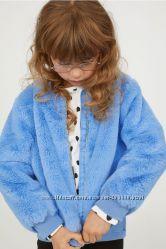 Чудесная курточка- шубка для девочки 6-9 лет