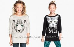 Топ-туника с кошкой для девочки 8-10 и 10-12 лет