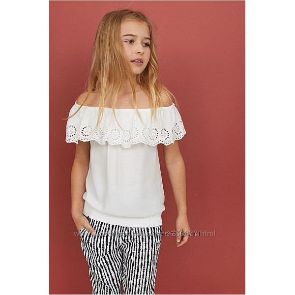 Блузочки в школу и не только для девочки от 5 до 13 лет