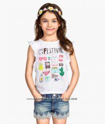 Яркие брендовые футболки для девочек.