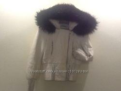 Куртка курточка кожаная Италия