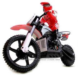 Мотоцикл 1к4 Himoto Burstout MX400 Brushed. красный