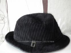 шляпа, ткань широкий вельвет