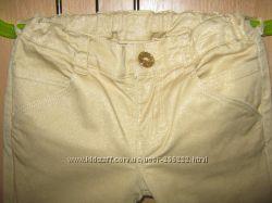 Гламурные джинсы с золотым отливом  Джимбори, размер 4.