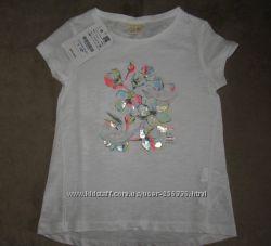 Новые модные футболочки Zara на 4-7 лет