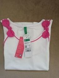 Новые футболочки, маечки Benetton, р.130