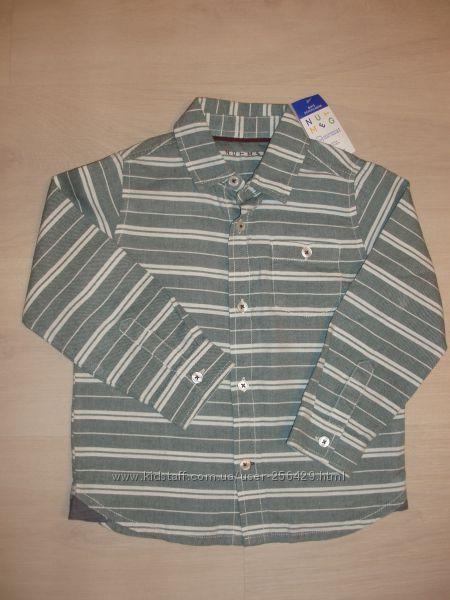 Рубашка на 4-6 лет Nutmeg  новая