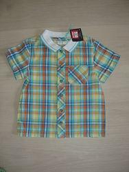 Рубашка-Поло на 2-3года  baby M&Co. новая