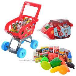 Тележка детская с продуктами 668 C-1