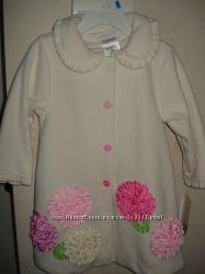 Флисовое пальто с беретом Bonnie Baby, 24 мес