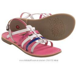 Кожаные босоножки Kickers Dixmillion Sandals 31, 32, 33, 35 размер