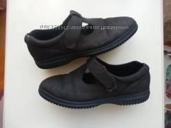 кожаные туфли кроссовки ЕССО 39р