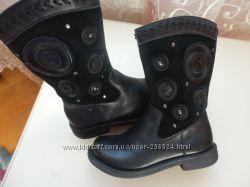 кожаные сапоги M&S 29р 19см