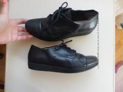 кожаные туфли Clarks 5, 5D 25см