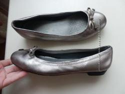 кожаные балетки M&S 5, 5р 25, 5см