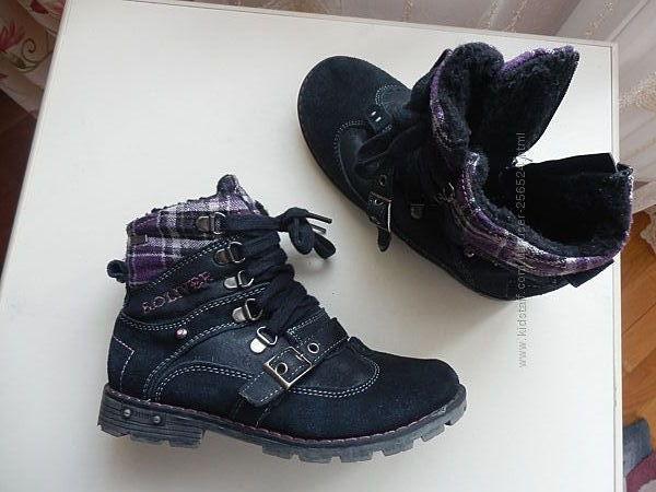 зимние ботинки S. Oliver 32р