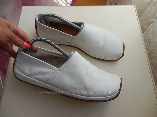 кожаные туфли мокасины Италия 42р 27,5см