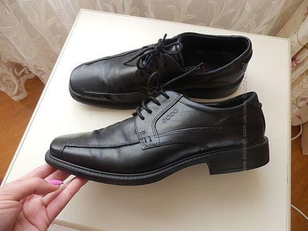 кожаные туфли Ecco 43р 29см