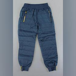 Штаны утепленные болоневые для мальчиков