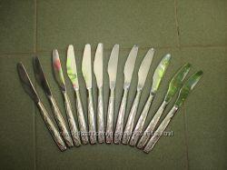 Набор столовых ножей с пилочкой новый распродажа