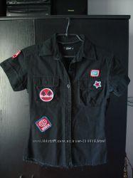 Стильная рубашка в кежуал стиле р. S