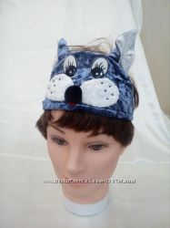 Карнавальная шапка котика