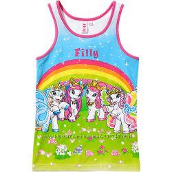 Майки, футболки, шорты на девочек от 4х до 11 лет. Германия.