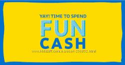 Fun Cash  Carters oshkosh skip hop купоны коды ваучеры