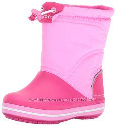 Сапоги crocs kids crocband lodgepoint boot крокс c8, j2,  j3
