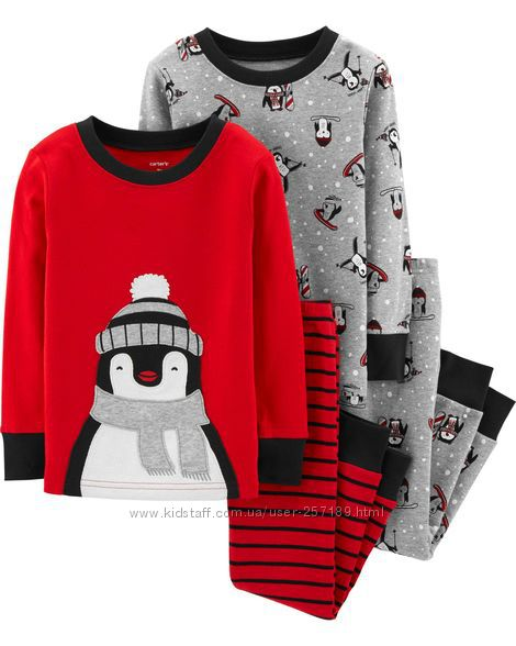 Детская пижама Carters 2т, 3т картерс пижамы