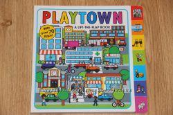 Книга с окошками Playtown на английском языке