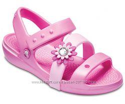 Босоножки крокс Crocs Keeley Petal Charm Sandal с10
