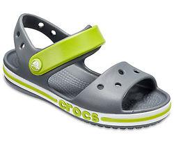 Детские сандалии босоножки Crocs Bayaband кроксы c9, c10, с13, j1