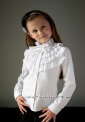 Школьные блузы с длинным рукавом