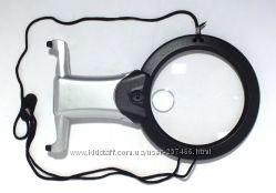 Лупа нашейная с подсветкой MG11B-1 для чтения и рукоделия