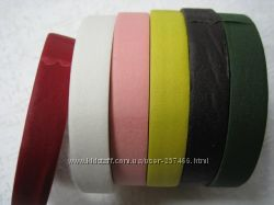 Тейп-лента флористическая, 16 цветов  3 цвета металлик