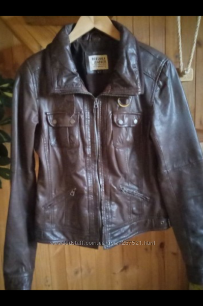 Куртка косуха Bershka Кожа натуральная