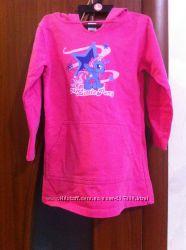 Фирменное платье с капюшоном My little pony для 3-4лет р. 98-104