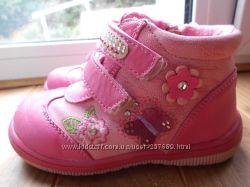 Деми ботинки для девочки 24 размер